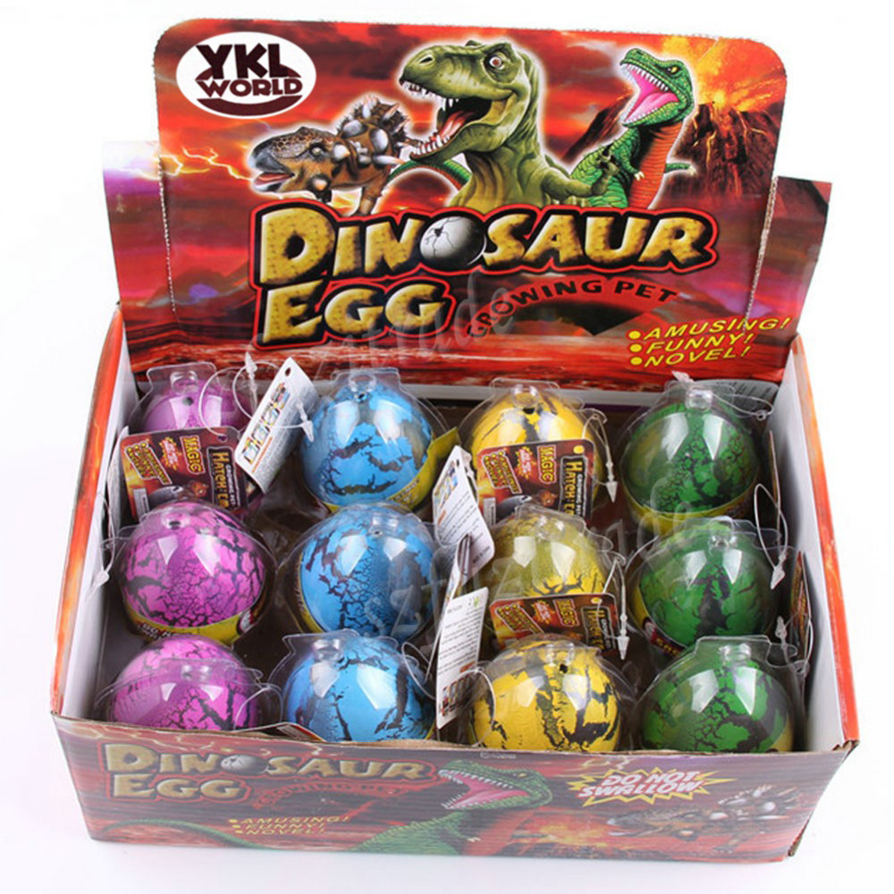 growing dinosaur egg toy instructions