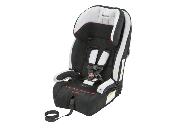 harmony car seat booster instructions