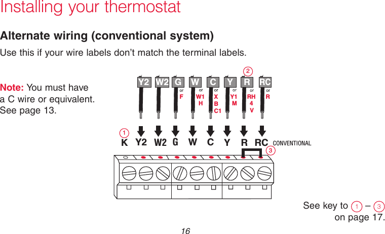 honeywell th6000 thermostat instructions