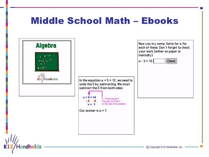 how to differentiate math instruction in middle school