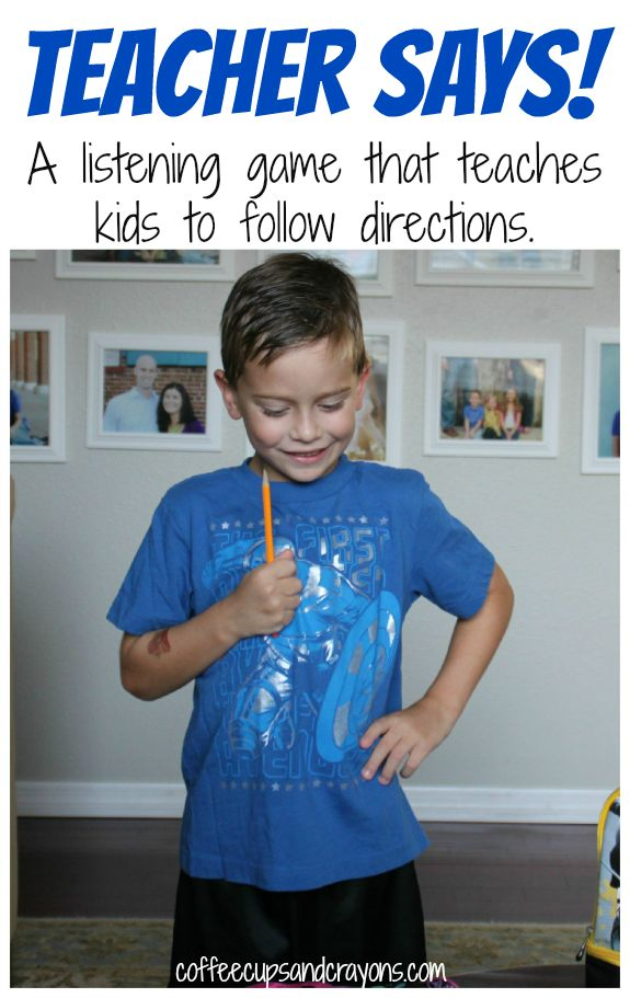 how to get kids to follow instructions sensory processing