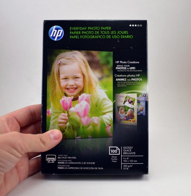 hp everyday photo paper instructions