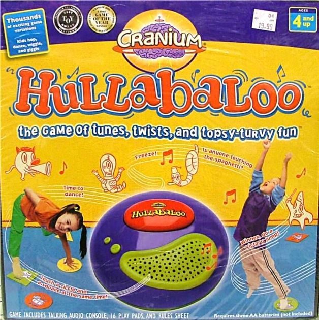 hullabaloo board game instructions