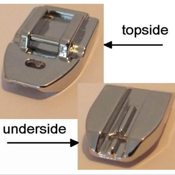 husqvarna sewing machine invisible zipper foot instructions