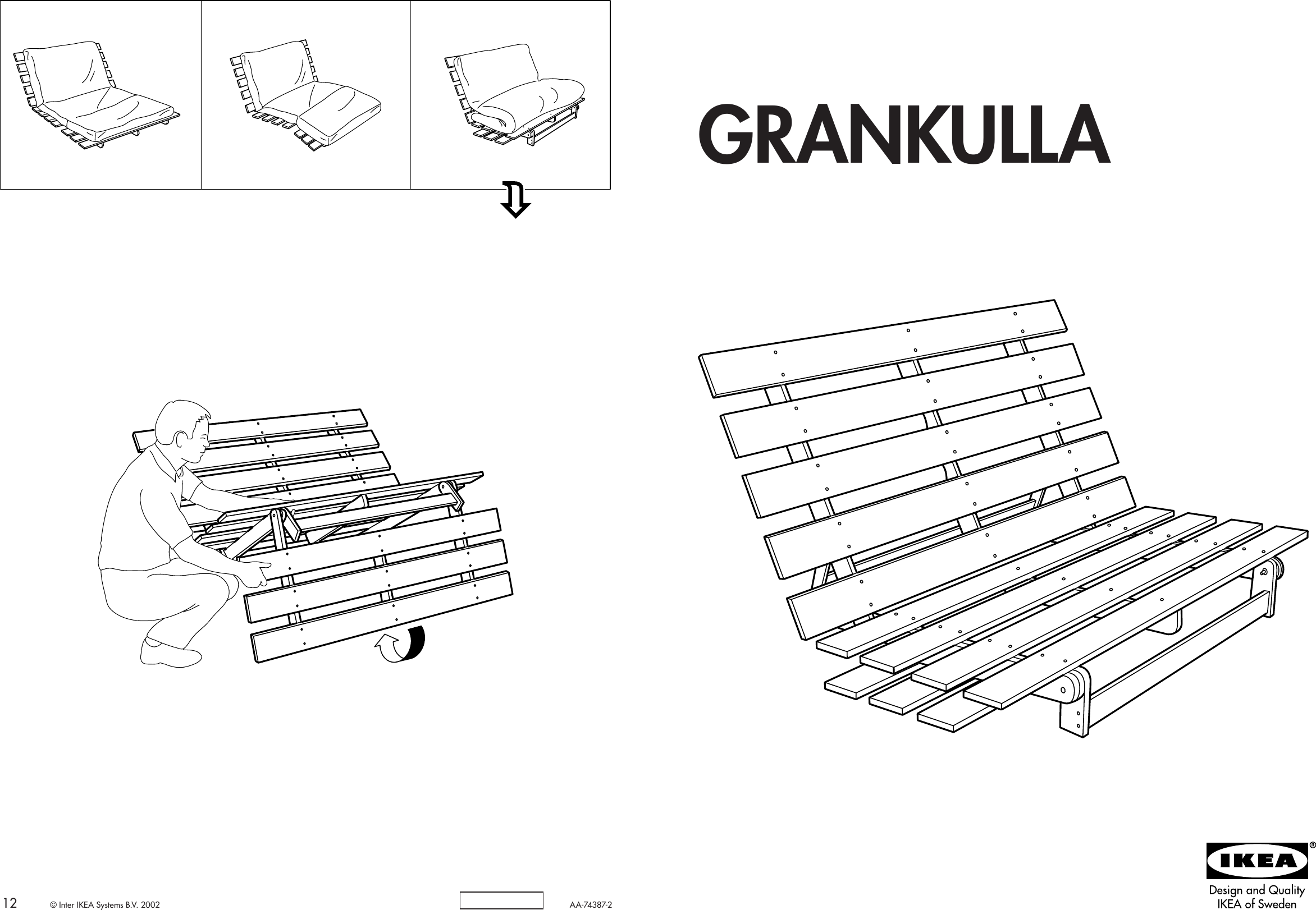 ikea ektorp chair assembly instructions