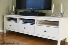 ikea hemnes tv unit assembly instructions