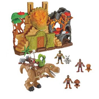 imaginext dino fortress instructions