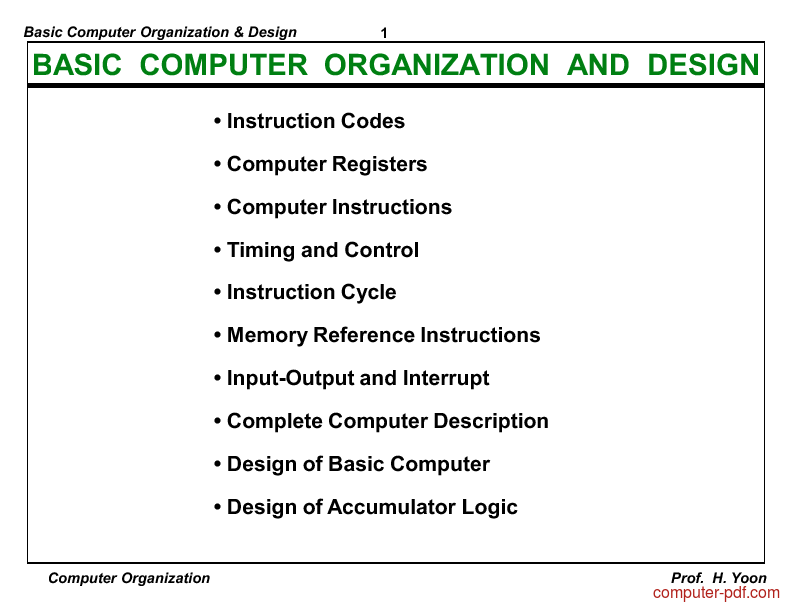 instruction cycle in computer architecture pdf