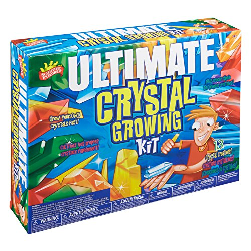 instruction for crystal growing kit