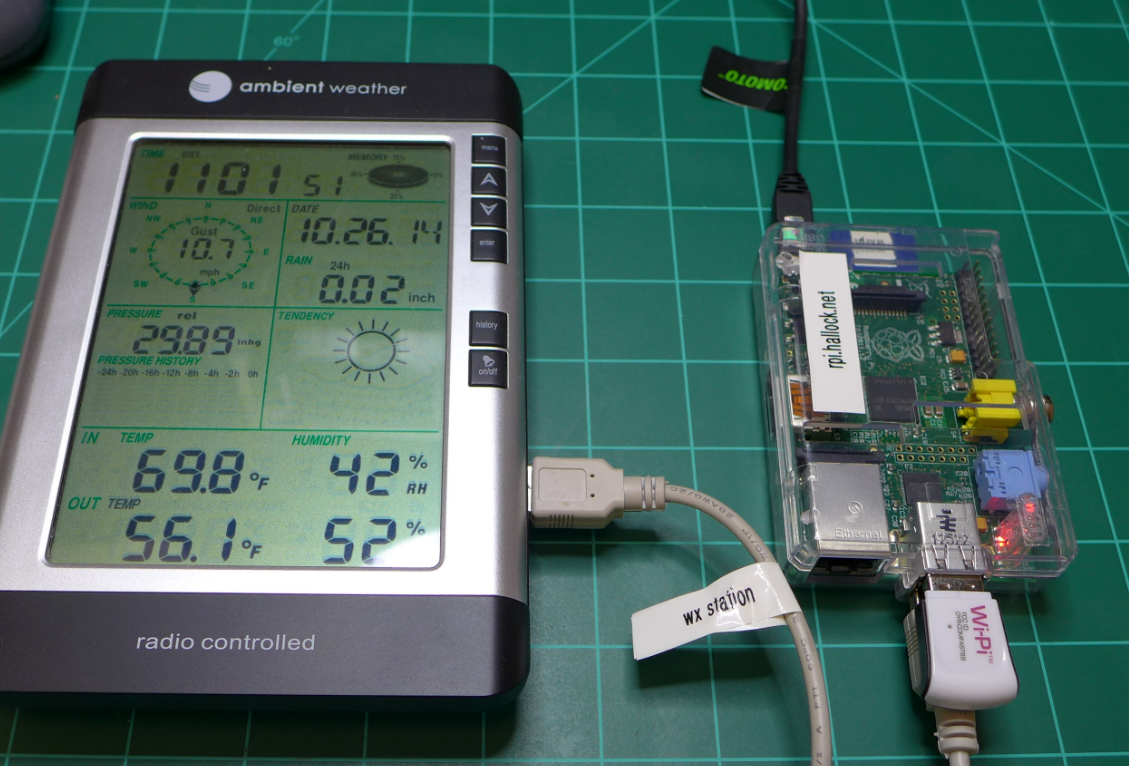 instruction for weather station model wh1150