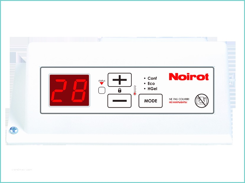 instruction manual noirot heater