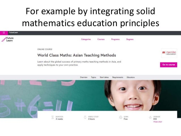 instructional design in maths