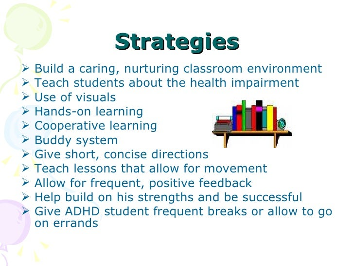 instructional strategies attention to stimuli