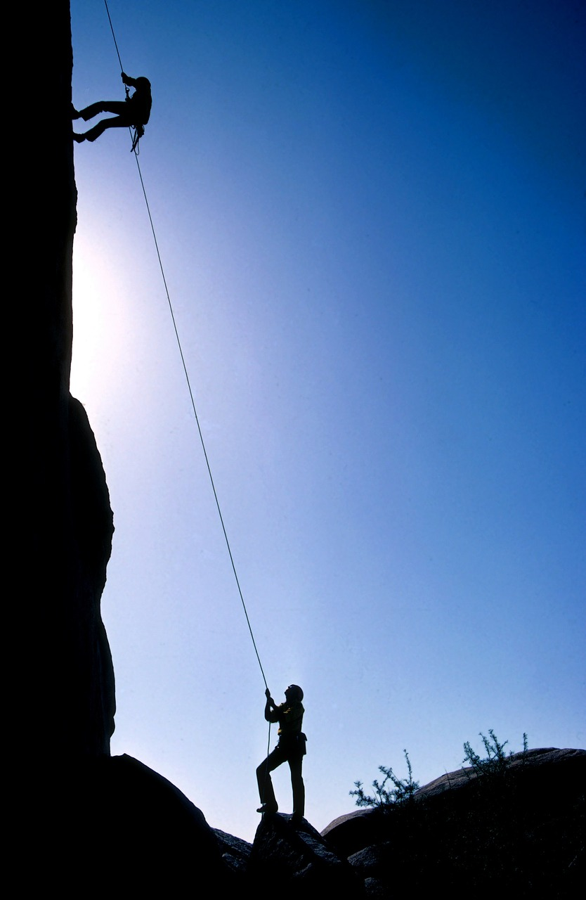 instructional technique and activity focus for mountain climbers