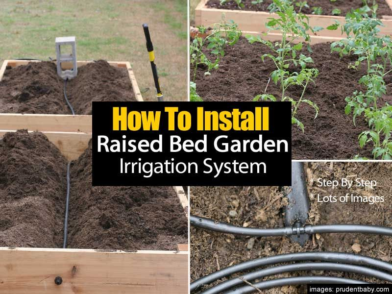 instructions for watersaver gardens