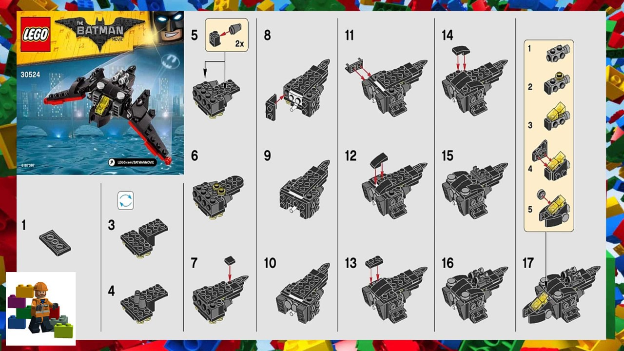 instructions in the lego movie