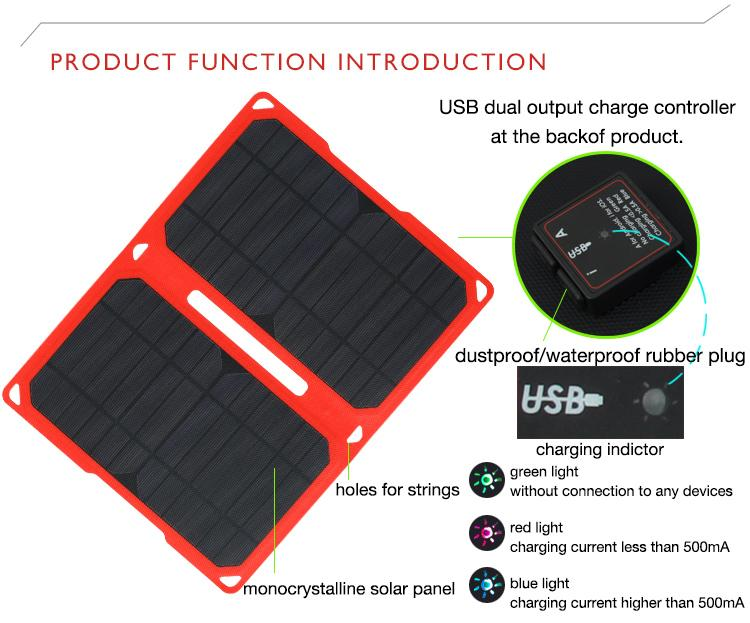 instructions mobile phone charger solar