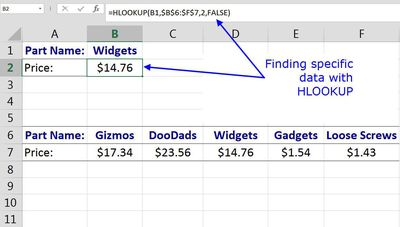 instructions on how to do a vlookup in excel