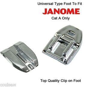 janome concealed zipper foot instructions