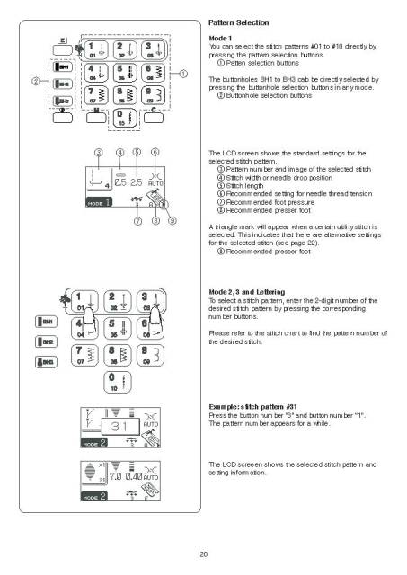 janome memory craft instruction manual
