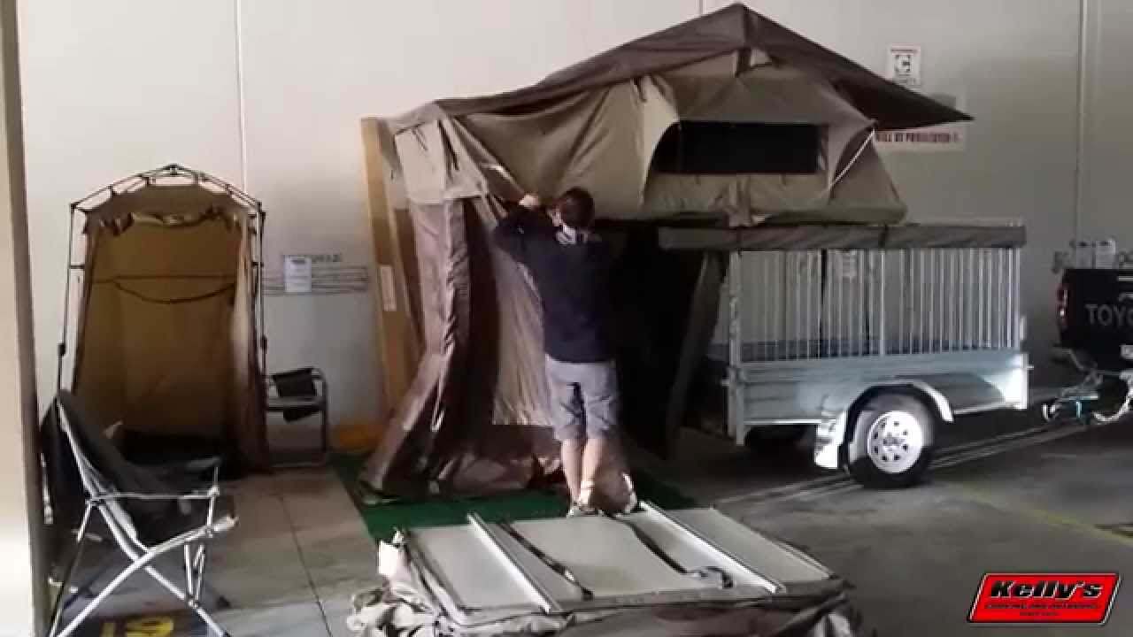 kings roof top tent mounting instructions