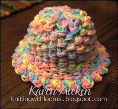 knifty knitter instructions finish hat