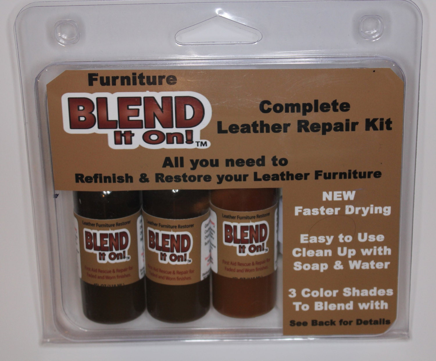 leather refinish color restorer instructions