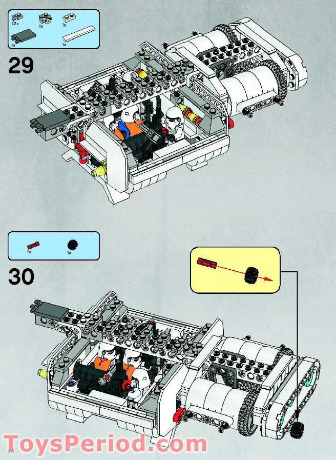 lego 7659 building instructions