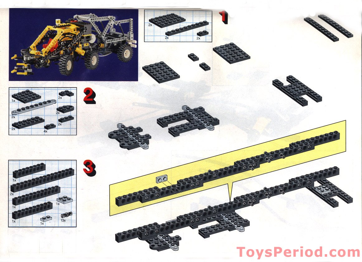 lego 8868 building instructions