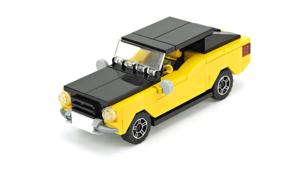 lego car instructions moc