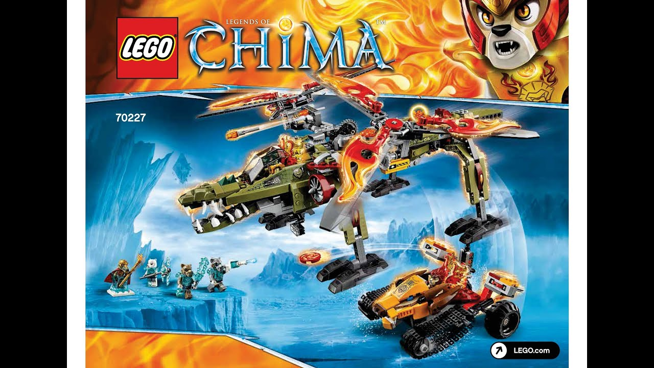 lego chima instructions 71232