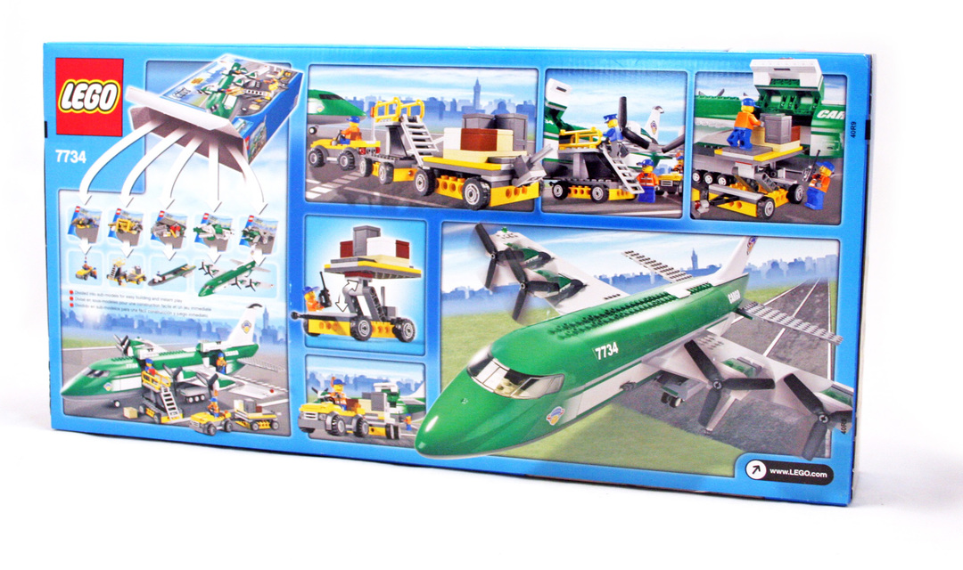 lego city 7734 instructions