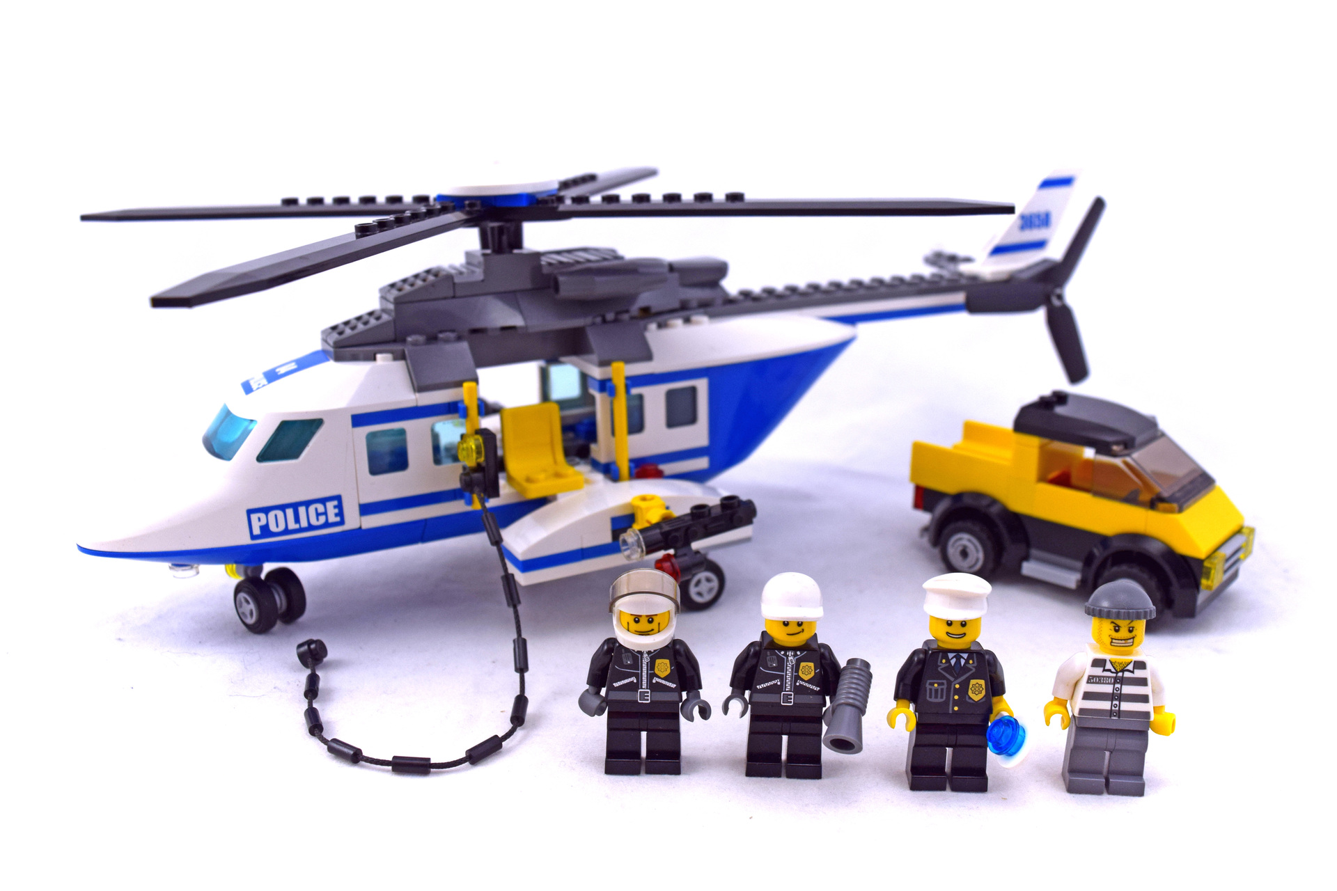 lego city police helicopter 3658 instructions