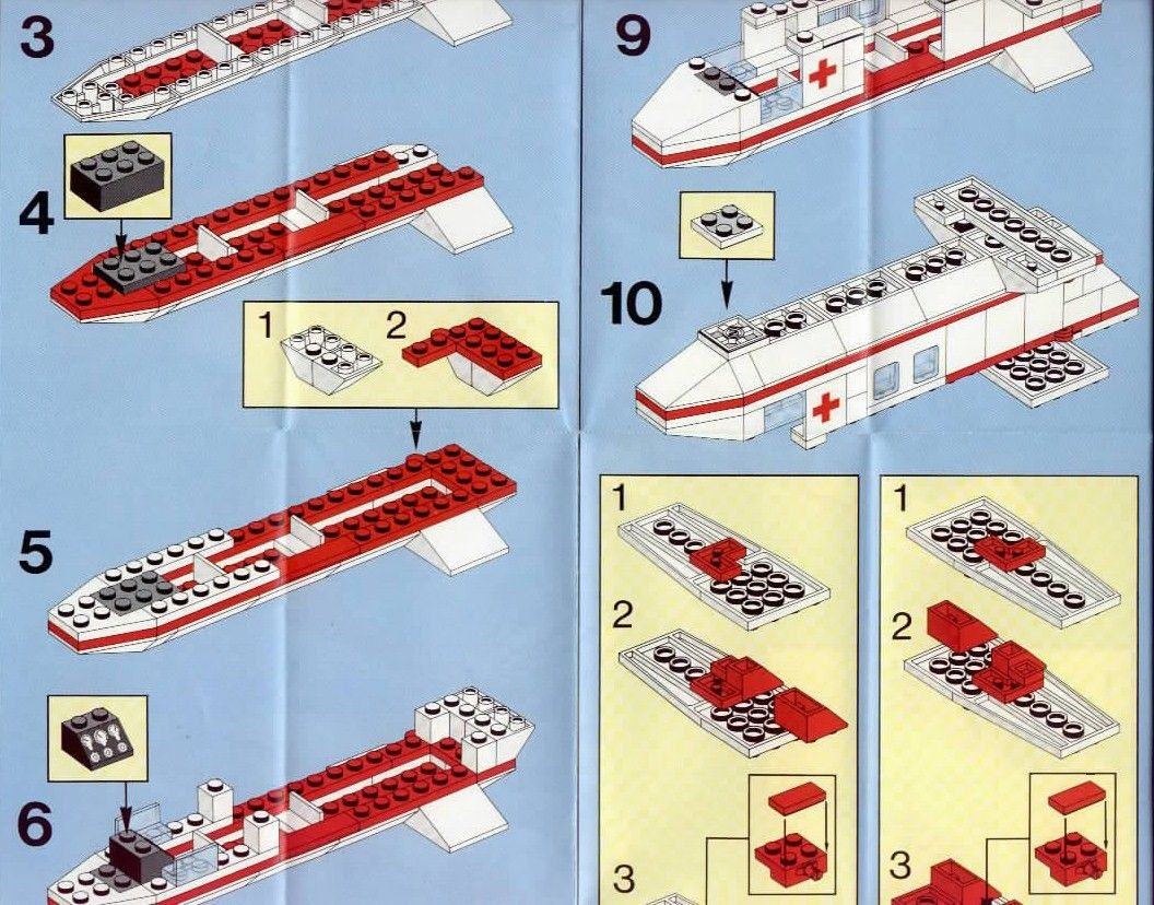 lego city rescue instructions