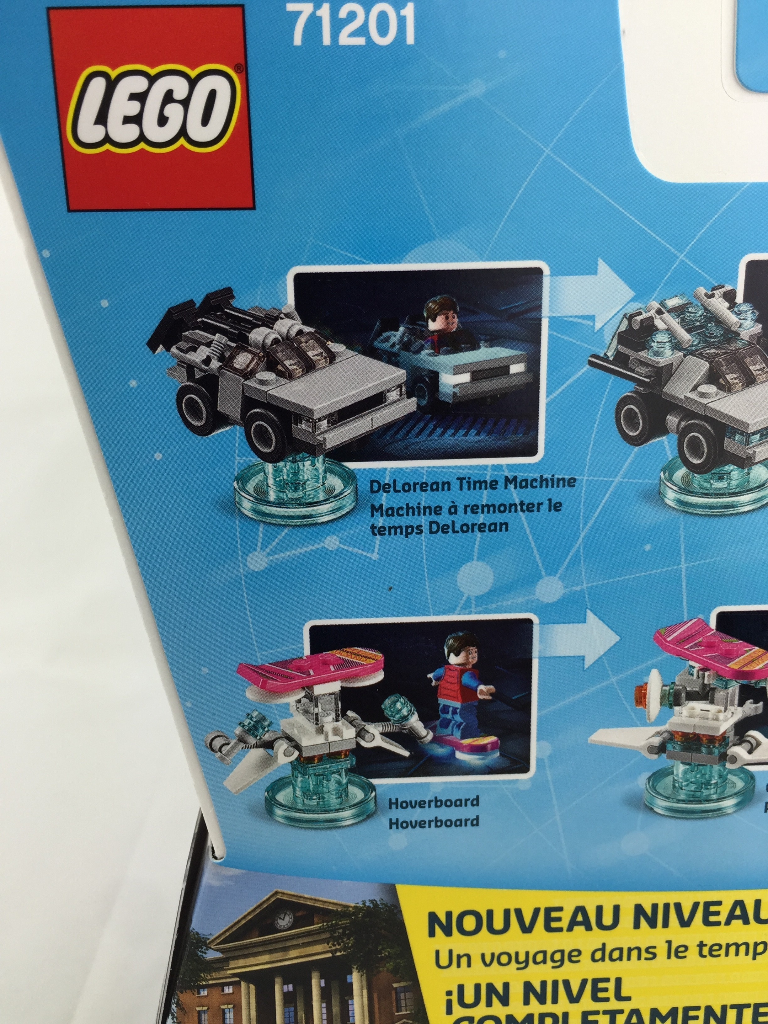 lego dimensions delorean instructions 71201