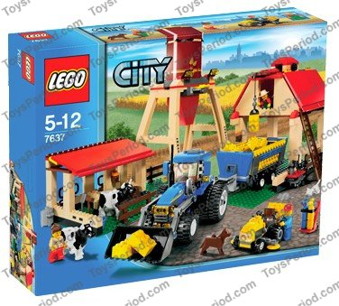 lego farm set 7637 instructions
