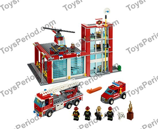 lego fire engine instructions 60107