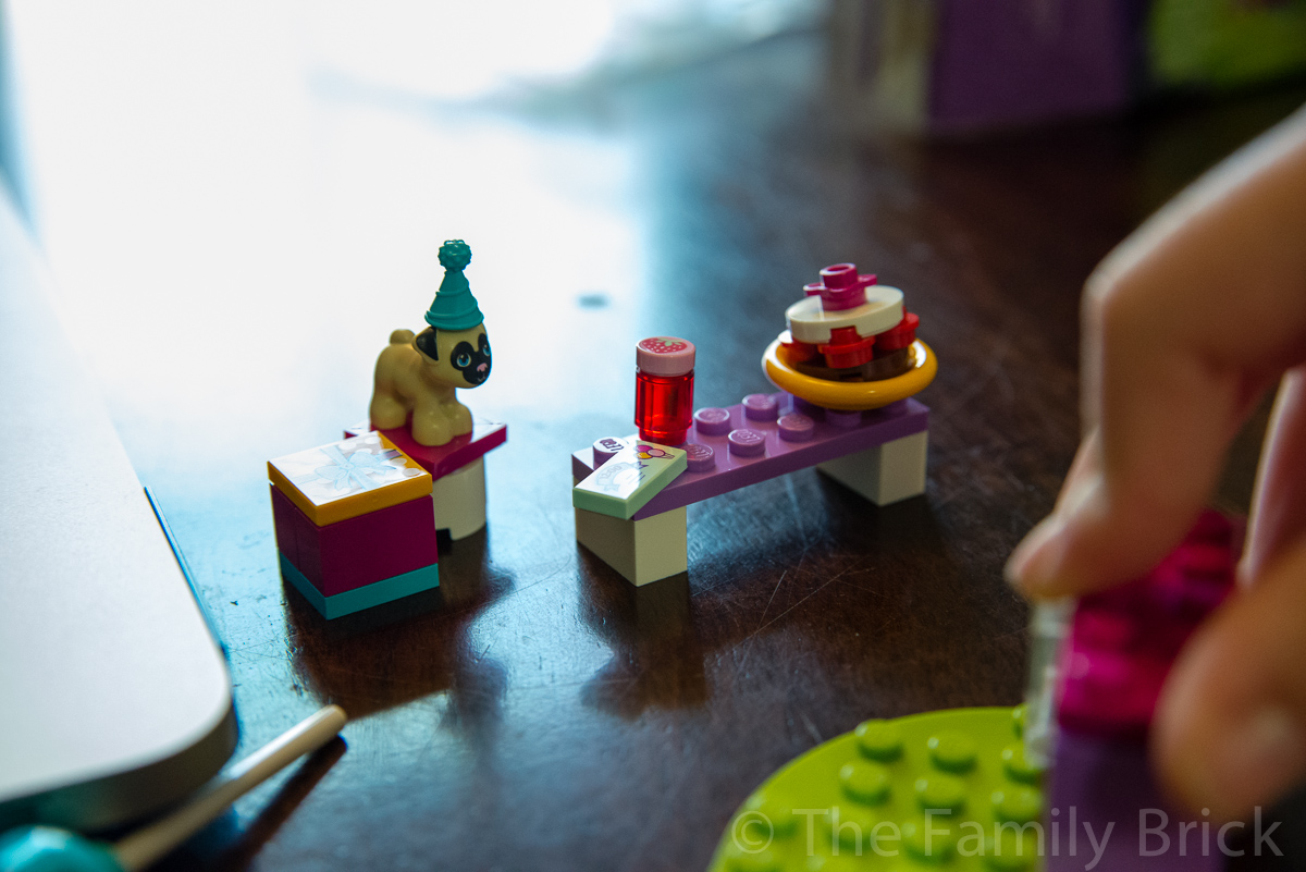 lego friends party cakes instructions