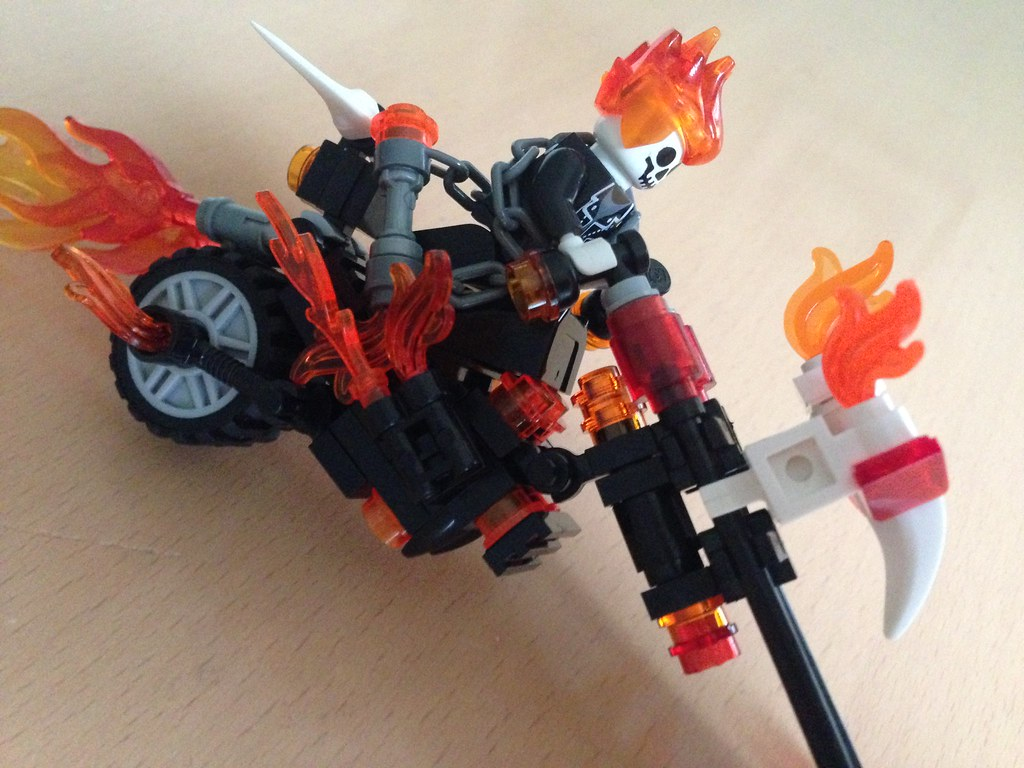 lego ghost rider instructions