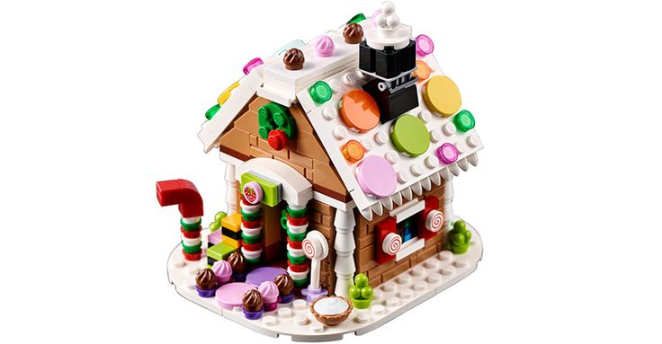 lego gingerbread house 40139 instructions