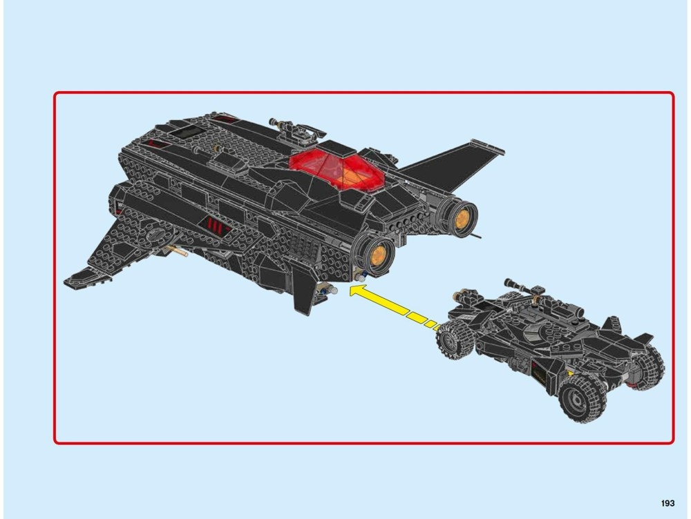 lego instructions flying fox