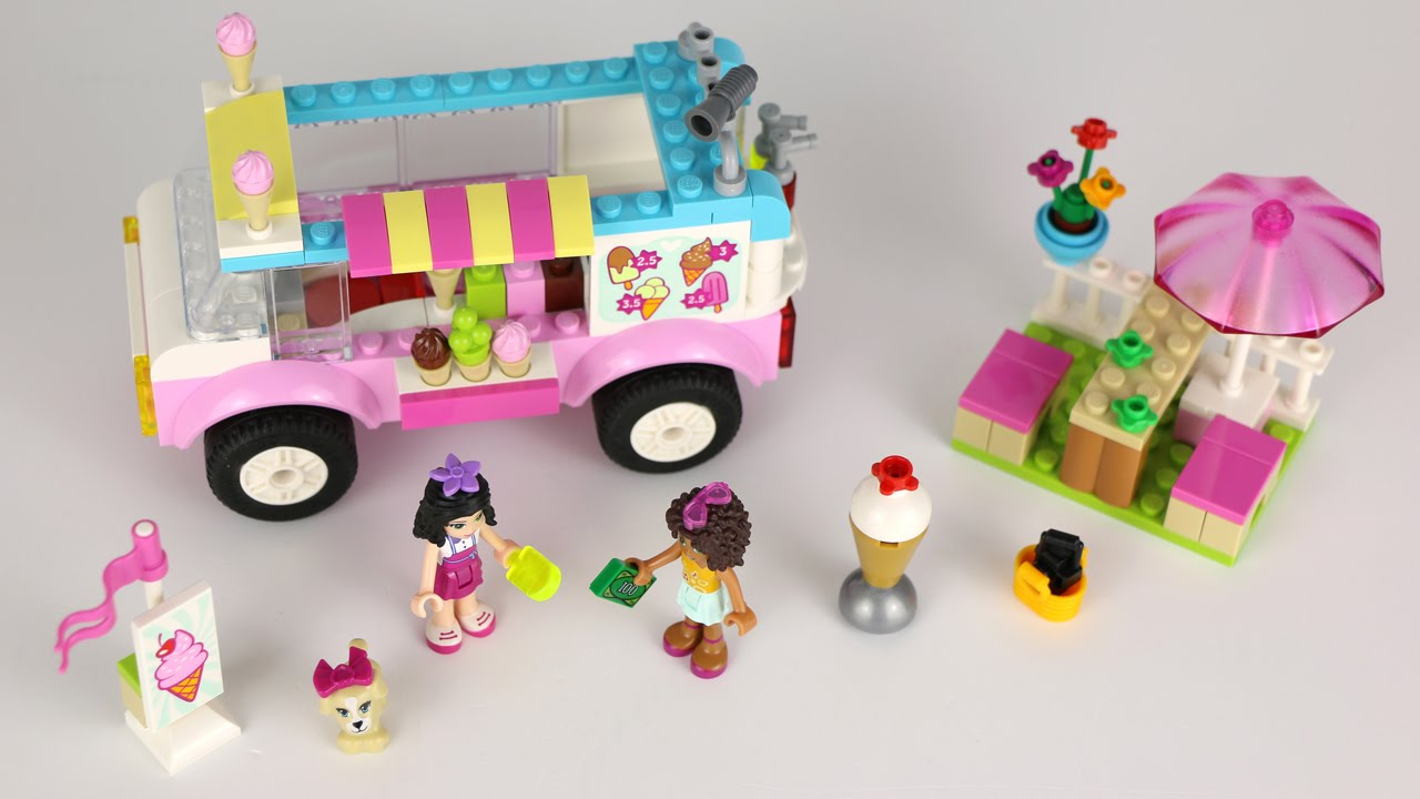 lego juniors ice cream truck instructions