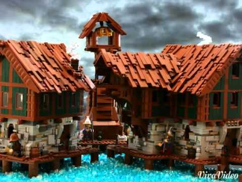 lego lake town instructions