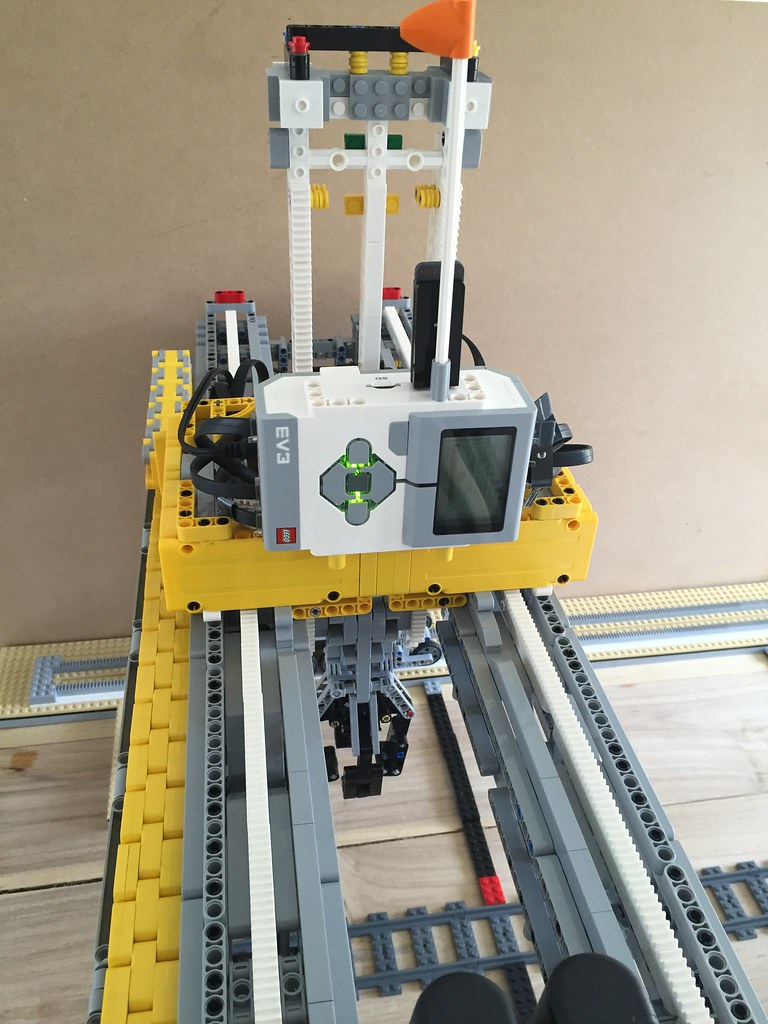 lego mindstorms nxt crane instructions