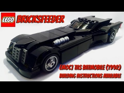 lego moc batmobile free instructions