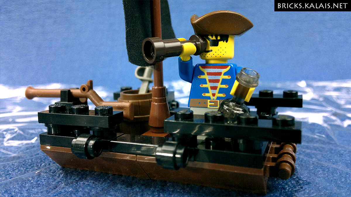 lego pirate raft instructions