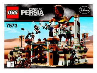 lego prince of persia battle of alamut instructions