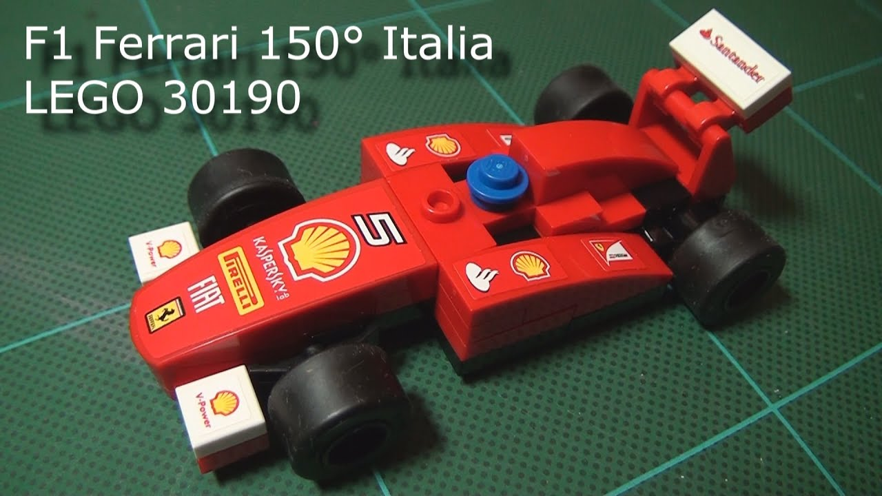 lego shell ferrari f1 instructions