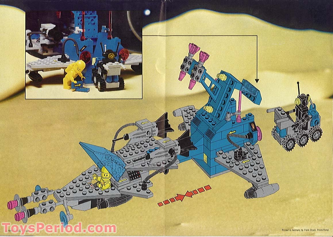 lego space instructions pdf