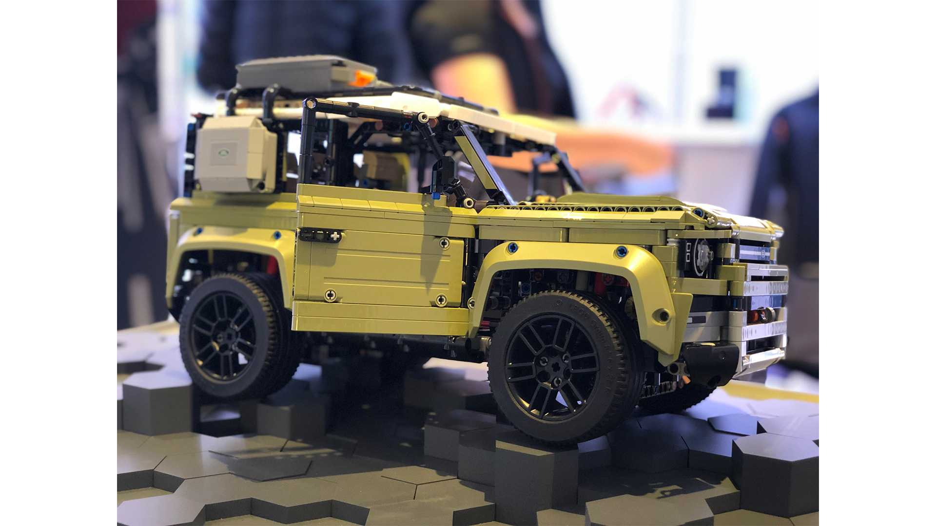 lego technic land rover defender 90 instructions